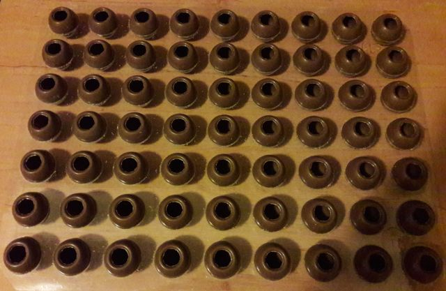 Mousse au Chocolat Pralinen